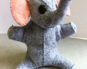 Little Felt Baby Elephant