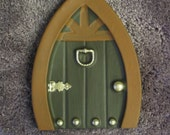 Fairy Door 2 Plastic Mold for use with Plaster and Cement