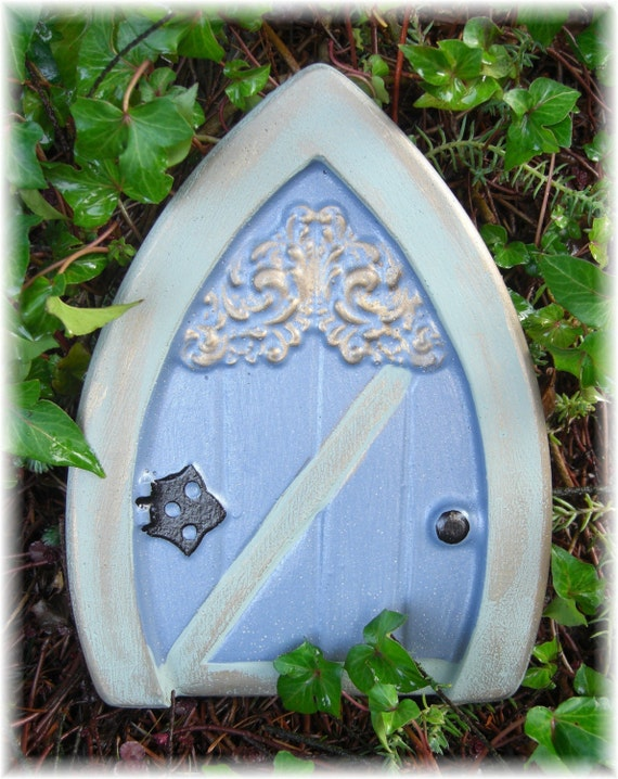 Fairy door 72 mold plaster cement craft mold for Concrete craft molds