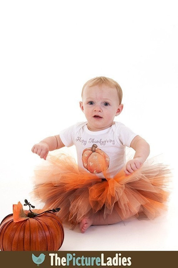 Fall Thanksgiving Tutu Outfit For Newborn Baby, Preemie, 0-3 month, 3-6 month YOU CHOOSE MIX N' MATCH