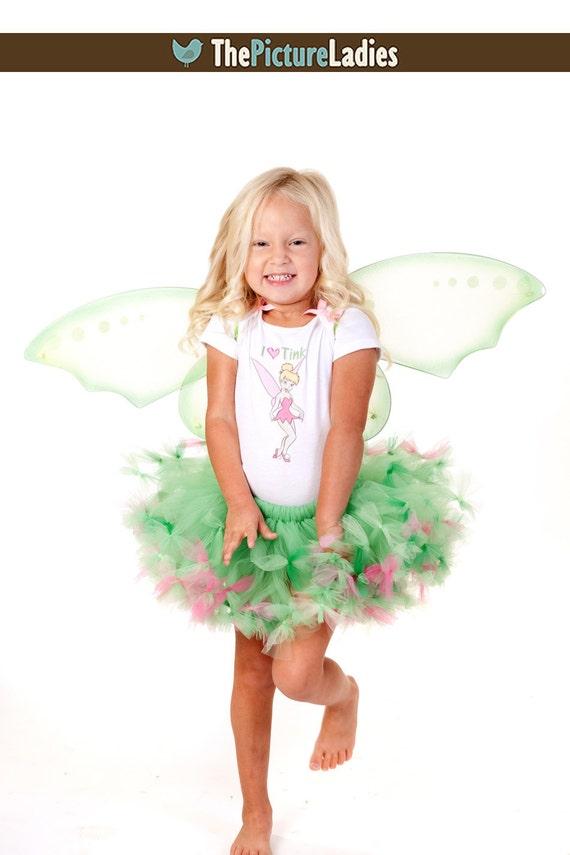 Toddler Tinkerbell Costume Tinkerbell Tutu Dress Set Tinkerbell Halloween Costume Girls Tinkerbell Costume 2t 3t 4t