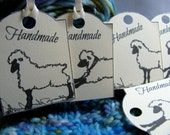 Sheep HangTags, Tags for Handmade Items, Set of 16