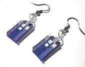 Tardis Earrings Doctor Who