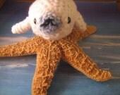 white  seal amigurumi
