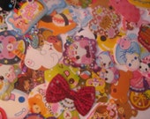 Kawaii  sticker flakes  150 pieces