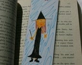 Bookmark, The Witch, a KateDoodlez character who will magically mark the page you were reading