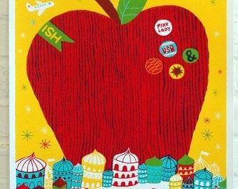 Big Apple Silkscreen