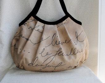 SALE 30% OFF - Granny Bag - Parchment