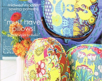 Amy Butler Must Have Pillows Sewing Pattern ON SALE