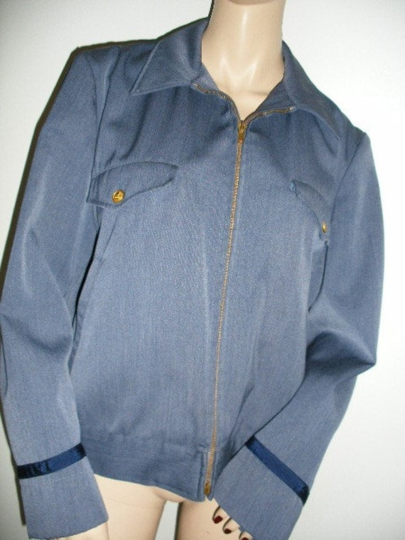 60s vintage postman jacket regulation letter carrier uniform