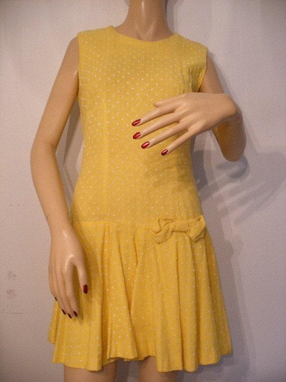 Vintage 60s Skort Dress by Mr. Sergio Inc., MOD SCOOTER romper skort.