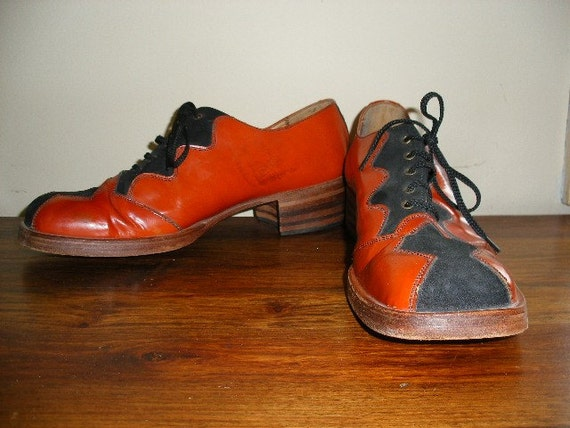 Vintage 70s Boogie Nights Mens Shoes Disco Vintage 70s