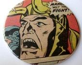 Loki Coasters // Recycled Thor Comic