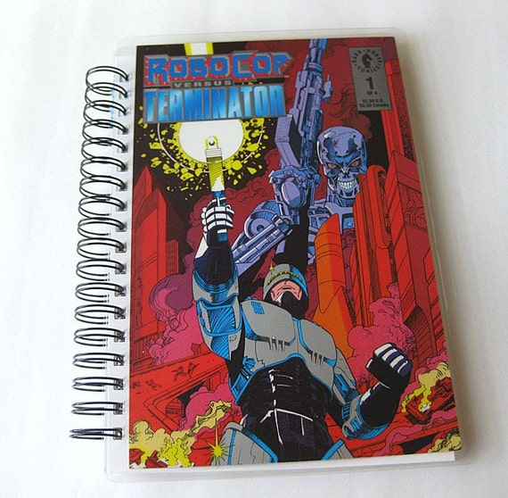 Robocop Vs Terminator Comic Book Sketchbook