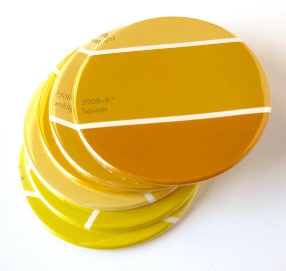 Yellow home decor  Etsy