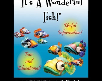 Aardvark's It's A Wonderful Fish BEAD TUTORIAL Make Fish Now