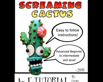 Aardvark's SCREAMING CACTUS Bead Tutorial  Make your own succulent