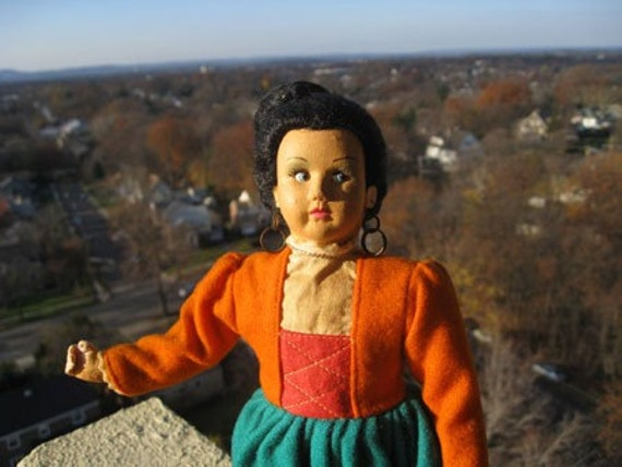 Sale.  Vintage Magis Doll Representing Naples, Italy