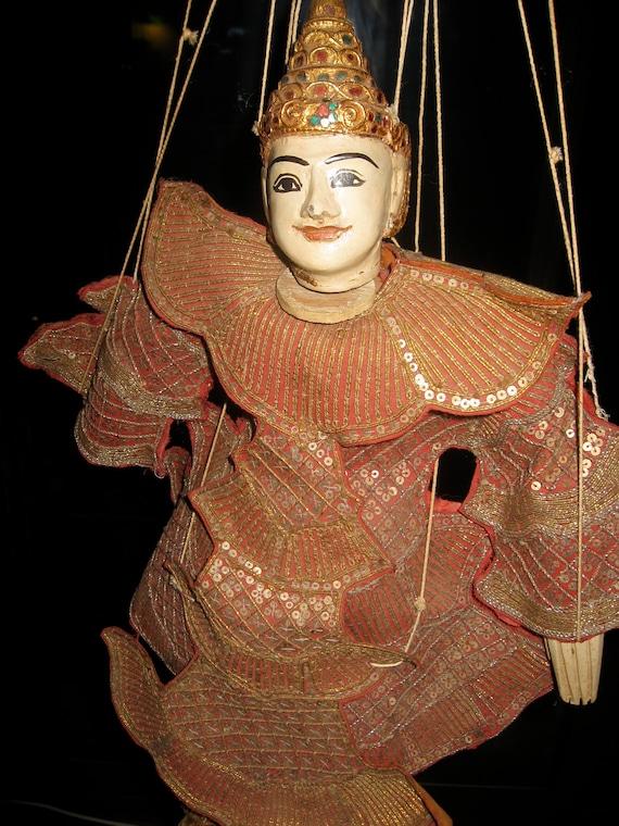 Vintage Burmese Marionette Puppet