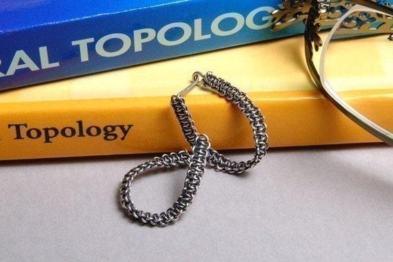 Mobius Strip Hoop Earrings - Sterling Silver Wire PDF Jewelry Tutorial Instructions
