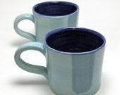 Pair of Monochromatic Mugs