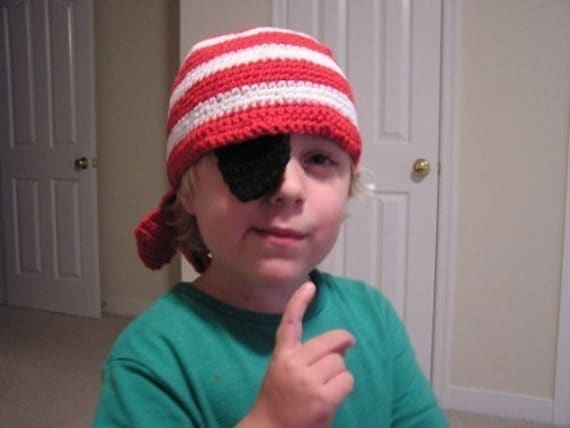 Don't Eat the Paste: Pirate Eye Patches