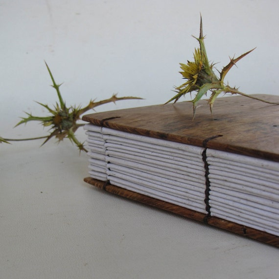Sobreiro - journal with wooden covers and recycled paper