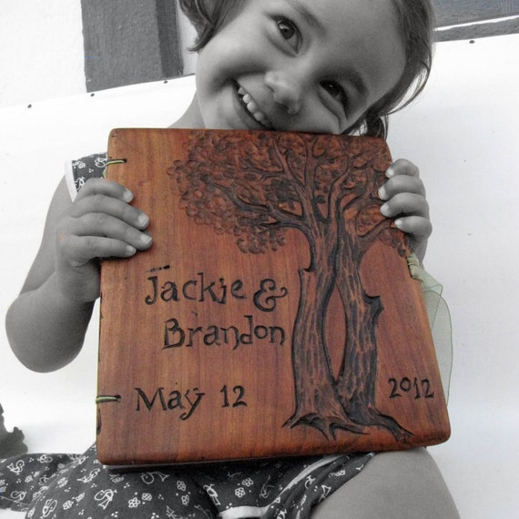 Personalized  guest book - custom made for Brandon