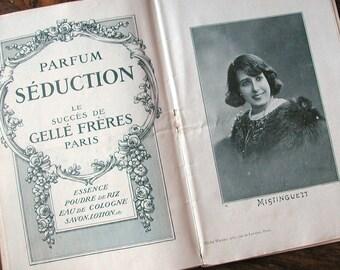 1910 Paris programme BOOKLET
