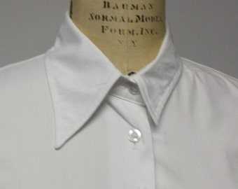 Wabi Sabi Collared Classic White Shirt