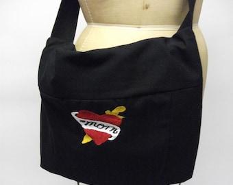 Classic Punk MOM Tatoo Biker Diaper Crossbody  Messenger Bag