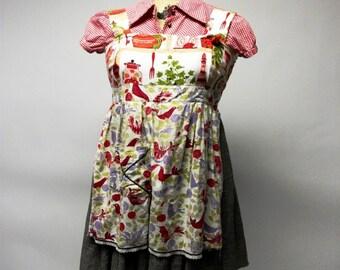 SALE Kitschy Kitchen Mavon Apron Dress