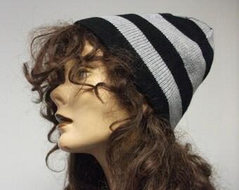 Stripey Skull Hat