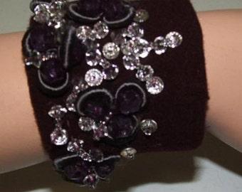 SALE Tattered Chic Cuff Bracelet