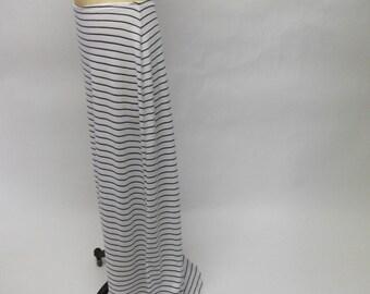 CUSTOM Nautical Stripey Skirt Mini Train YOUR SIZE
