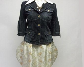 Brocade Teacup Skirt