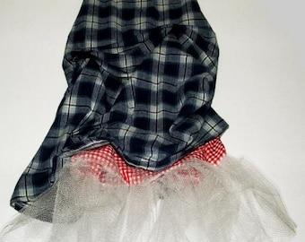Kids Plaid Crini Skirt