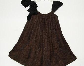 Theater Drape Swingy  Dress