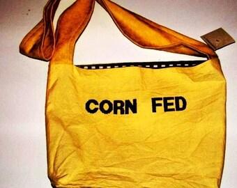 Corn Fed messenger Crossbody  bag