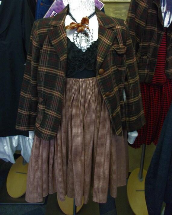 SALE Ribbon Empire Dress