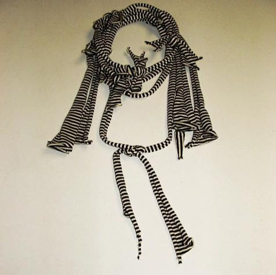 Deconstructed Stripey Necklace