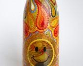 Retro Smiley Face Bottle