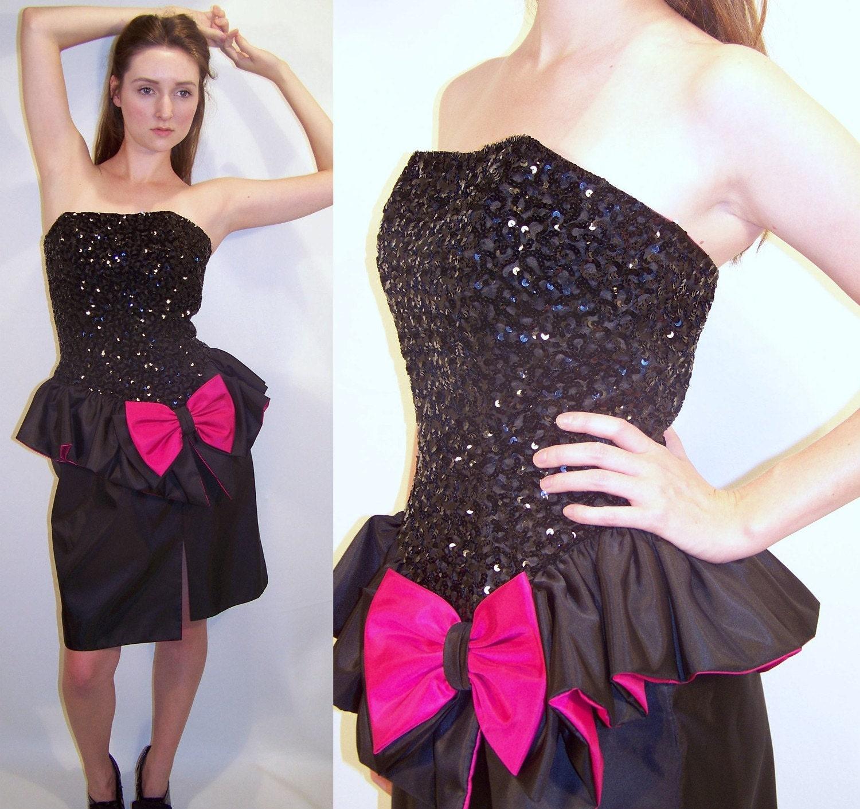Dress code eighties - 80s Prom Dress Costume Cocktail Dresses 2016