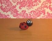 Polymer Clay Ladybug - Super Cute