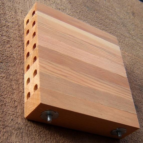 Orchard Mason Bee House, Mason Bee Box, Repurposed Fir Wood