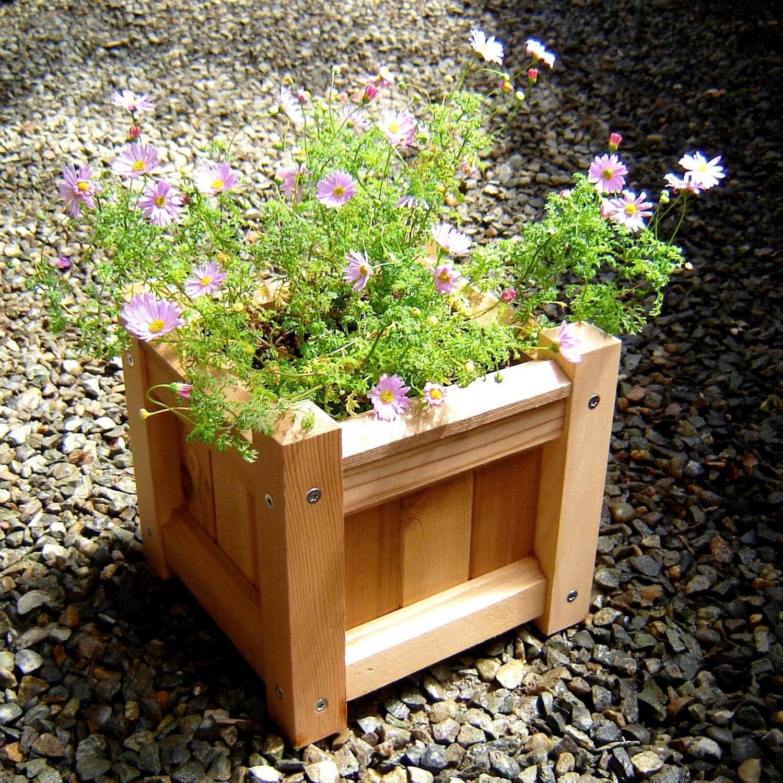 reclaimed wood planter box. Black Bedroom Furniture Sets. Home Design Ideas