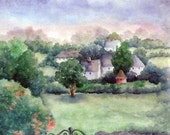A VILLAGE IN ADARE IRELAND, FREE SHIPPING