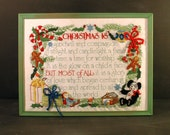 RESERVED FOR ANN Christmas Embroidery