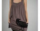Raven Babydoll Dress Tunic