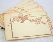 Bird Frame Gift Tags - Vintage